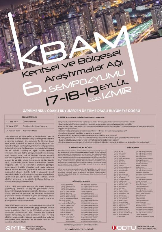 6 KBAM Sempozyum afisi